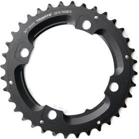 SRAM MTB Plato 2x10-Velocidades sin pin, negro